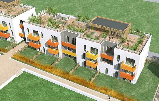 Monconseil coquartier for Immeuble ecologique